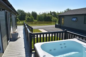 Hot Tubs at Wold View Fisheries